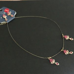 Icing Jewelry - Necklace and earrings set